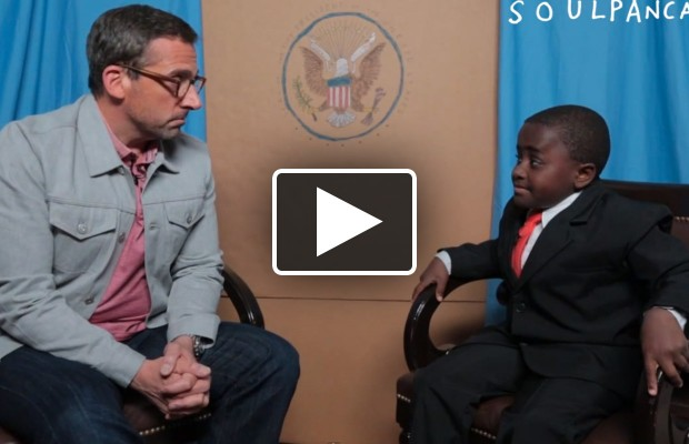 Kid President talks to Steve Carell